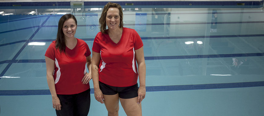 April & May pool, red cross, swim instructor