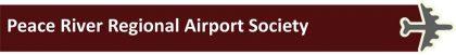 peace river regional airport