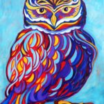 Jazzy Owl - Mary Parslow