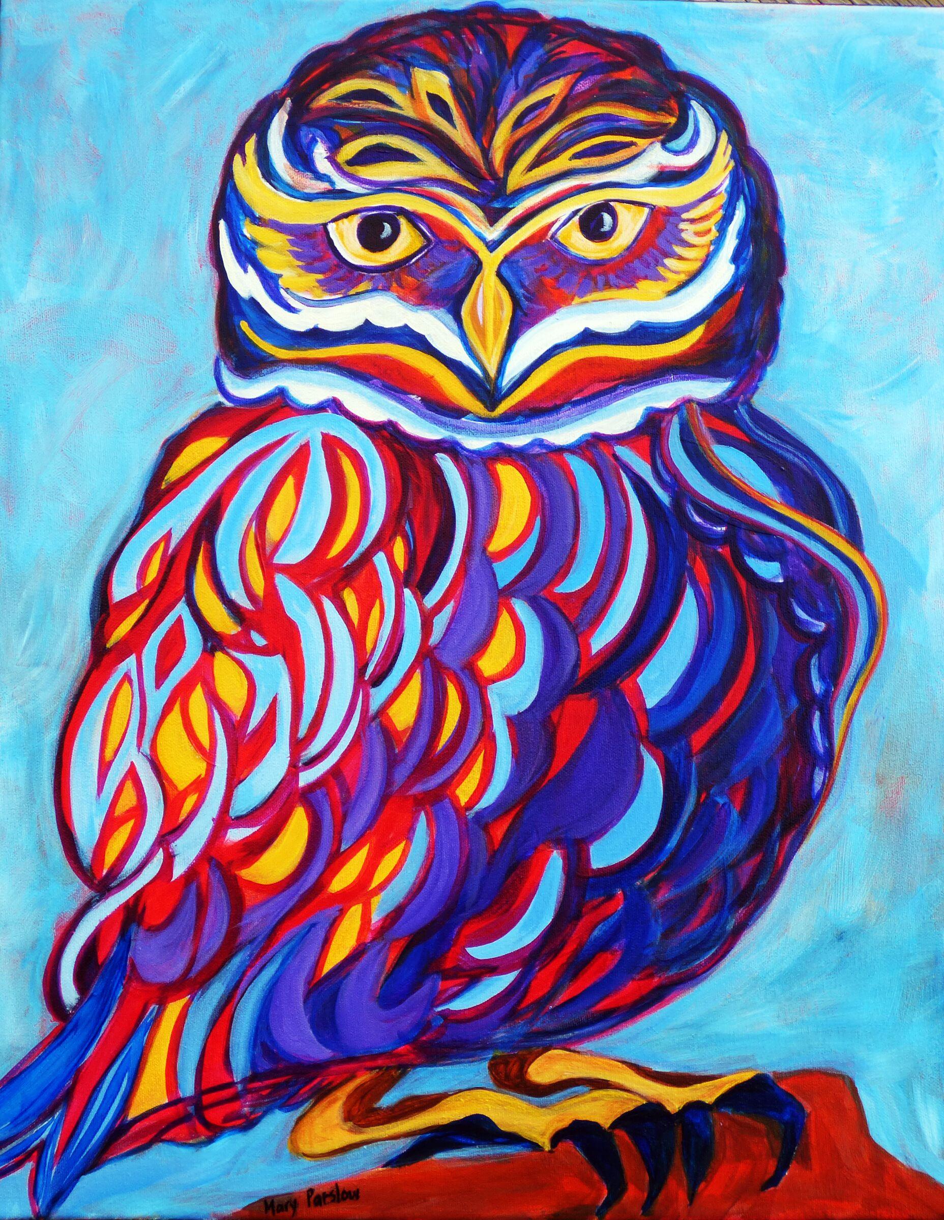 Jazzy Owl - Mary Parslow